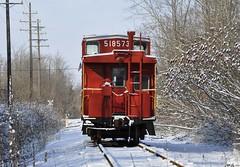Jefferson, Ohio (Bob McGilvray Jr.) Tags: railroad train nw tracks caboose acj jeffersonohio ashtabulacarsonjeffersonscenicrailroad
