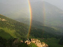 Doppelter Regenbogen II (Deutscher Wetterdienst (DWD)) Tags: nacht wolken halo sonne regenbogen wetter glorie fernsicht pnomen