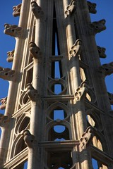 Spire details - Gothic cathedral of Barcelona (Sokleine) Tags: barcelona architecture spain catholic cathedral details gothic catalonia belltower unesco spire cathdrale espana espagne unescoworldheritage barcelone clocher catalogne