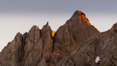 La torre de los Cabrones (2.552 m) (Carpetovetn) Tags: atardecer asturias d200 montaa picosdeeuropa nikond200 picocabrones peaksofeurope torrecabrones