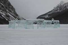 Lake Louise road trip (davebloggs007) Tags: park lake canada castle ice louise national alberta banff sculptures