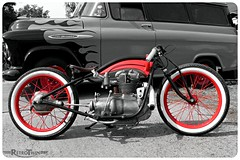 AWO (=RetroTwin=) Tags: classic vintage germany deutschland lumix fz20 flat 2006 september panasonic motorbike motorcycle custom motorrad headbanging finsterwalde awo colorkey 425 bobber lostillusion75 retrotwin