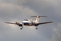 Prop blur (shutcho1973) Tags: beechcraft raf turboprop kingair cranwell coningsby