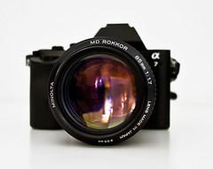 Minolta MD Rokkor 85/1.7 (Minolta Collector) Tags: lens minolta sony a7 objektiv rokkor alpha7