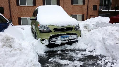 Kia Soul Snow Removal