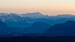Sunset in Tyrol (:: Blende 22 ::) Tags: blue schnee light sunset sun mountain snow color clouds canon austria licht tirol sterreich sonnenuntergang himmel wolken bluesky berge blau sonne blauerhimmel tyrol farben kufstein ef24105mmf4lisusm canoneosd canoneos5dmarkii niederndorf