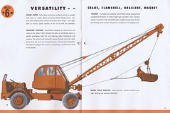 Michigan T6K c1950 (5) (Runabout63) Tags: michigan machinery brochure excavator earthmoving