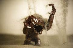 Tatooine Rancor Rage (east_mountain) Tags: starwars sand desert lego rage rancor legos sith throw legostarwars tatooine minifigure afol starwarslego minifigures legoart legomania livingforce legophotography legophoto legonation