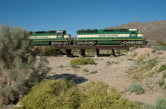 Six-Motor Diesels in the Desert (joemcmillan118) Tags: california cadiz arizonacalifornia
