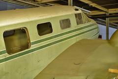 Beech AT-7 Navigator N312 (skyhawkpc) Tags: copyright navigator beech allrightsreserved 2014 beech18 at7 4137 forneymuseumoftransportation n312
