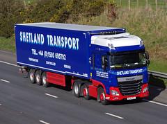Shetland Transport DAF XF SJ14PGX (andyflyer) Tags: dafxf shetlandtransport sj14pgx