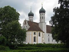 Benediktbeuern Abbey, Abbey Church (aniko e) Tags: church abbey germany bavaria basilica monastery benedictine benediktbeuern salesians basilicaminor