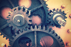 gear wheel (Mimadeo) Tags: old motion detail history industry monochrome wheel metal vintage circle ancient rust iron industrial factory technology mechanical time antique decay metallic steel grunge engine machine rusty gear dirty retro machinery filter age round aged cogwheel effect corrosion mechanism gearing