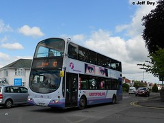 WX56HKG (jeff.day48) Tags: volvo wright gemini 47 southgloucestershire downend 32691 b7tl badmintonroad firstbristolavon wx56hkg firstwestofengland