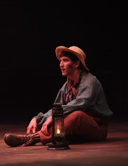Ben Fankhauser as Huck Finn in Big River, produced by Music Circus at the Wells Fargo Pavilion June 23-28, 2015. Photos by Charr Crail.