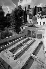 Perugia-Assisi-Roman (stugee) Tags: street 2 bw italy white black archaeology monochrome mono italia noir fuji roman ruin x fujifilm 12mm assisi noire e2 xe f20 samyang rokinon xe2