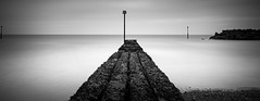 Walk the plank (Adeypoos) Tags: groyne jetty seascape sea seafront seaside seascapes water waterfront milky blur blackandwhite bw westsussex sussex elmer fudd longexposure 15 stop nd adrianpollardphotography canoneos6d canon1635mmf4is lee