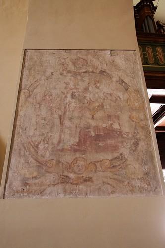 Dawna dekoracja malarska kościoła Wniebowzięcia NMP i św. Stanisława BM w Bodzentynie