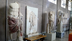 Roman Statues (RobW_) Tags: roman statues museum ancient corinth peloponnese greece wednesday 08mar2017 march 2017