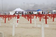 Arlington West Santa Monica CA (joefenstermaker) Tags: california 2017 santamonica vetransforpeace iraq afganistan