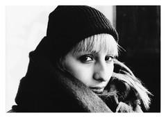 Natural light portrait (YSida) Tags: analogue analog film grain nikon noir classicblackwhite blackwhite bnw portrait people ilford ilfordfp4 moody 35mm 50mm