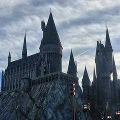 Truly magic day at Hogwarts.