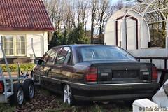 Vauxhall Carlton Diplomat Limousine (NielsdeWit) Tags: nielsdewit opel omega vauxhall diplomat limo limousine abandoned favourite ede