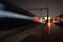 KCC (Debatra) Tags: kcc krishna krishnacanal krishnacanaljunction vijayawada bza bzadivn scr southcentralrailway southindia andhrapradesh andhra railways rail railroad railwaystation india indianrailways ir irfca electric electrictraction night d3300 nikon nikkor 1855 1855mm