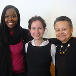 Morgan McClain-McKinney USAID, Claudia Schwartz USADF, Dr. Merle Bowen
