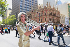 Beehive & Bouffant (Plymography) Tags: plymography jason nolan adl adelaide south australia photographer cbd city barry morgan world of organ organs out fringe 2017 festival shoot show jasonnolan 5000 keyboard this entertainer kitsch safari suit big hair