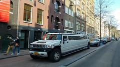 Hummmmmmer (Peter ( phonepics only) Eijkman) Tags: amsterdam city cars nederland netherlands nederlandse noordholland holland