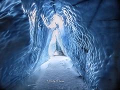 Ice Cave - Matanuska Glacier, Alaska (kweaver2) Tags: kathyweaver kdxweaver nature matanuska glacier alaska landscape ice winter snow blue cave