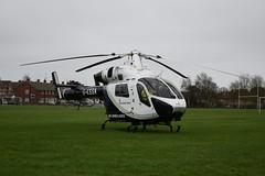 Kent Sussex Surrey Air Ambulance G-KSSA In Eastbourne (Sussex photos) Tags: kent sussex surrey air ambulance gkssa seen landed eastbourne hampden park school field helicopter 999