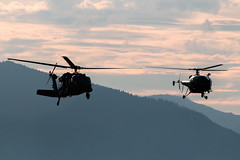 (The Aviation) Tags: elicotteri zeltweg helicopter eli spotting spotter airpower uh1 r44 a109 blackhawk