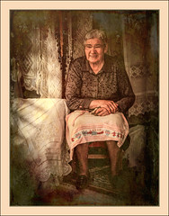 The Lace Lady revisited (dave-hall) Tags: aegean crete krista