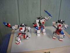 Anioł Hardsuit Squad (Śląski Hutas) Tags: lego moc hardsuit mech futuristic scifi bricks guns lasers