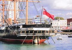 "HMS Warrior Portsmouth. (""DavidJHiom"") Tags: royalnavy hmswarrior portsmouth"