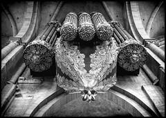 The Swallows nest Organ (Ramon Quaedvlieg Photo) Tags: theswallowsnestorgan organ architecture architectural trier triererdom church music blackandwhite blackandwhitephotography 1974 klaisorgan art cologne religion cathedral catholic germany rhinelandpalatinate highcathedralofsaintpeter cathedraloftrier