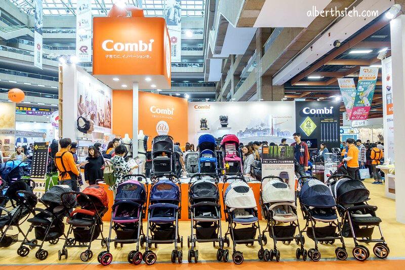 Combi 60週年.台北嬰兒與孕媽咪用品展