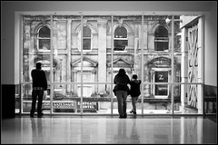 old windows and new windows (creactivphoto) Tags: street window mall shopping 50mm scotland nikon marks mai streetphoto spencer inverness schottland d90 2013