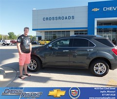 Crossroads Chevrolet Cadillac Joplin Missouri Customer Reviews and Testimonials - Roger Anderson (Crossroads Chevrolet Cadillac) Tags: new chevrolet car sedan truck wagon happy pickup cadillac mo used vehicles chevy missouri bday van minivan suv crossroads luxury coupe dealership caddy joplin shoutouts hatchback dealer customers 4dr 2dr preowned