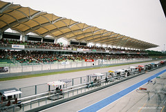 30-Sepang grandstands (Cybreed) Tags: film 35mm prime nikon superia international fujifilm circuit sepang supergt fe2