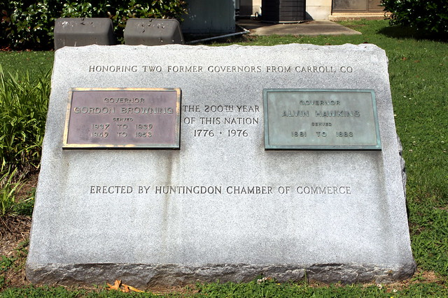 Honoring two former governors from Carroll County