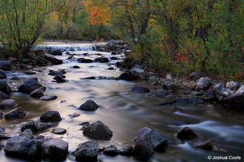 Photo - South Boulder Creek in autumn.
