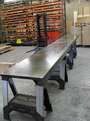 49 - A 4 meter long Light Patina Bar Top (Metal Sheets Limited) Tags: light bar long top 4 meter patina a