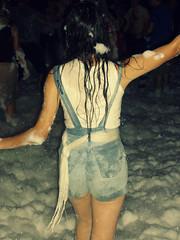 Feeling (Rusteddog) Tags: party girl night dance hungary dancing budapest foam zp