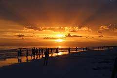 Sunset, Siesta Key, FL (Hialean) Tags: sunset sun beach gulfofmexico florida siestakey
