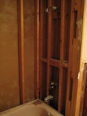 During (Jen44) Tags: tile bathroom gut construction bath sink interior tub bathtub reno renovation remodel update washroom