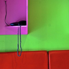 call center (baxsyl) Tags: red paris france green colors rose square r