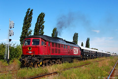 07 126 and Orient Express (Rivo 23) Tags: class romania express orient railways 07 nord 126 bulgarian ludmilla vsoe giurgiu bdz